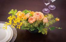 テーブルの花 センターピースⅠ